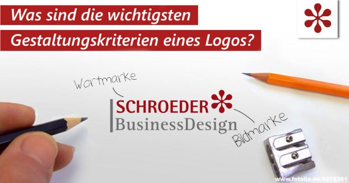 Was sind die wichtigsten Gestaltungskriterien eines Logos?