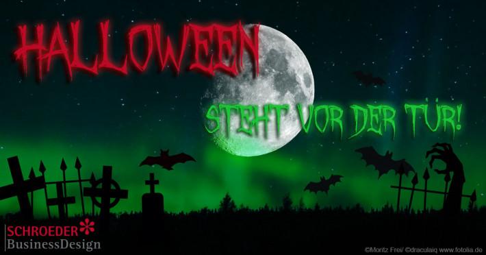 Halloween steht vor der Tür!